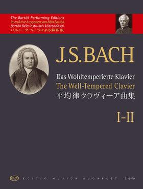 J. S. Bach - DAS WOHLTEMPERIERTE KLAVIER I-II. (BARTÓK)