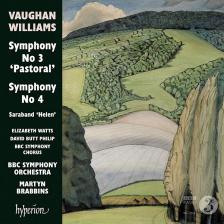 VAUGHAN-WILLIAMS - SYMPHONY NO 3 CD BRABBINS