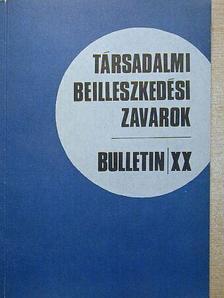 Bártfai Imre - Társadalmi beilleszkedési zavarok XX. [antikvár]