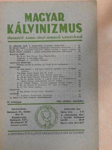 B. Pap István - Magyar Kálvinizmus 1935. október-december [antikvár]