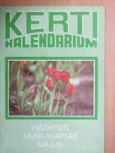 Biza Klára - Kerti Kalendárium 1989. május [antikvár]