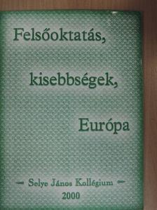 Bauer Edit - Felsőoktatás, kisebbségek, Európa [antikvár]