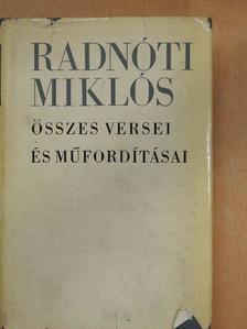 Adolf Meschendörfer - Radnóti Miklós összes versei és műfordításai [antikvár]