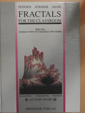 Dietmar Saupe - Fractals for the Classroom I. [antikvár]