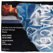 JANÁCEK - THE DIARY OF ONE WHO DISAPPEARED CD SPENCE, DRAKE