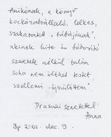 """Valachi Anna - """"Irgalom, édesanyám..."""" (dedikált) [antikvár]"""