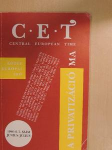 Árva László - C.E.T Central European Time 1998. június-július [antikvár]