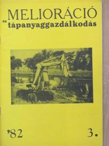 Bartha István - Melioráció és tápanyaggazdálkodás '82/3. [antikvár]