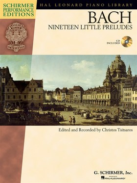 J. S. Bach - NINTEEN LITTLE PRELUDES (ED. AND REC. BY CHRISTOS TSITSAROS) + CD