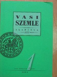 Árpás Károly - Vasi Szemle 2004/1. [antikvár]