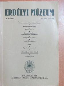 Anton Dörner - Erdélyi Múzeum 1993/3-4. [antikvár]