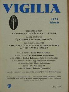 Aurélien Sauvageot - Vigilia 1979. február [antikvár]