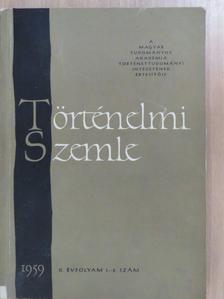 Benda Kálmán - Történelmi Szemle 1959/1-2. [antikvár]