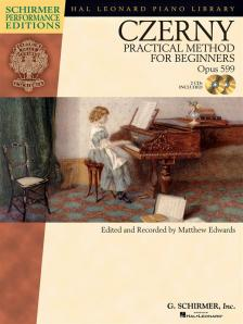 CZERNY - PRACTICAL METHOD FOR BEGINNERS OP.599 (ED. AND REC. BY M. EDWARDS) + CD
