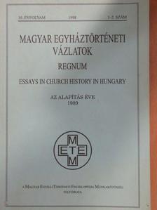 Glück Jenő - Magyar Egyháztörténeti Vázlatok 1998/1-2. [antikvár]