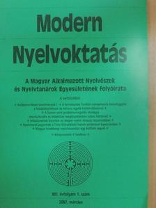 Barta Péter - Modern Nyelvoktatás 2007/1. [antikvár]