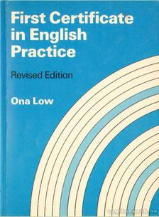 Arnold, Edward - First Certificate in English Practice Ona Low [antikvár]