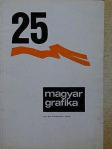Dr. Siklós Margit - Magyar Grafika 1970/1. [antikvár]