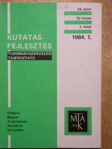 Sebestyén György - Kutatásfejlesztés 1984/1. [antikvár]