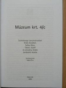 Faragó Dániel - Múzeum krt. 4/c [antikvár]