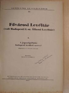 Bónis György - Fővárosi Levéltár 4. [antikvár]
