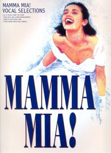 ABBA - MAMMA MIA! VOCAL SELECTIONS FOR PIANO, VOICE AND PIANO