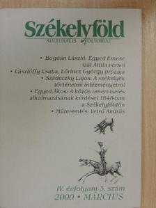 Beke György - Székelyföld 2000. március [antikvár]