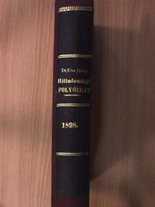 Babik József - Hittudományi folyóirat 1898. [antikvár]