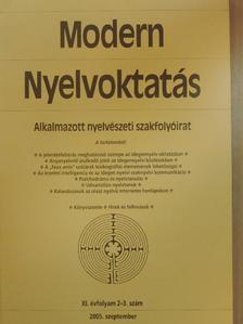 Budai László - Modern Nyelvoktatás 2005/2-3. [antikvár]
