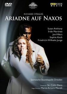 R. STRAUSS - ARIADNE AUF NAXOS DVD (DAVIS)