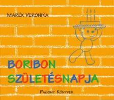 MARÉK VERONIKA- - Boribon születésnapja