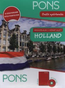 MEGSZÓLALNI 1 HÓNAP ALATT - HOLLAND - KÖNYV+CD  (ÚJ)