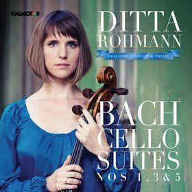 Bach - CELLO SUITES NOS.1,3 &5 CD ROHMANN DITTA