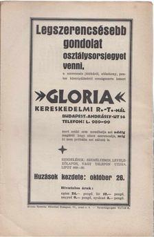 ZSOLT BÉLA - A toll I. évf. 24. sz. (1929. szeptember 29.) [antikvár]