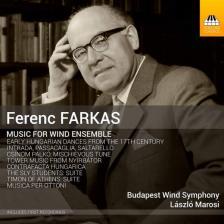 Farkas Ferenc - MUSIC FOR WIND ENSEMBLE CD MAROSI