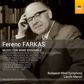 Farkas Ferenc - MUSIC FOR WIND ENSEMBLE CD MAROSI