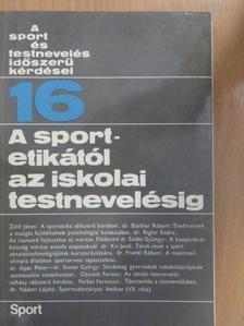 Dr. Apor Péter - A sportetikától az iskolai testnevelésig [antikvár]