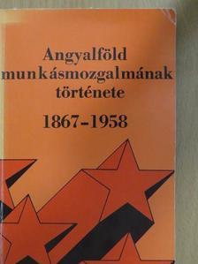 Erényi Tibor - Angyalföld munkásmozgalmának története 1867-1958 [antikvár]