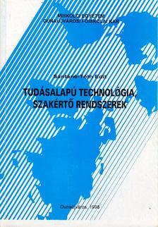 Sántáné-Tóth Edit - Tudásalapú technológia, szakértő rendszerek [antikvár]