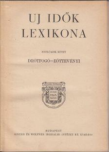 Herczeg Ferenc - Uj idők lexikona VIII. kötet [antikvár]