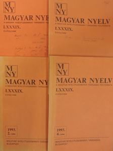 Ábrahám Imre - Magyar Nyelv 1993/1-4. [antikvár]
