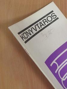 Cseh Gábor - Könyvtáros 1977. február [antikvár]