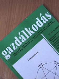 Bozsik Norbert - A gazdálkodás 9. számú különkiadása 2004. [antikvár]