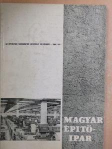 Balázsovich Boldizsár - Magyar Építőipar 1964/8-9. [antikvár]