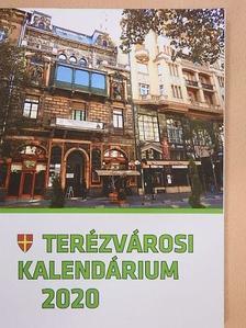 Csikós Attila - Terézvárosi kalendárium 2020 [antikvár]