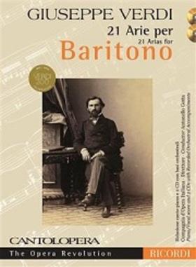 Verdi - CANTOLOPERA 21 ARIE PER BARITONO PIANO/VOCAL INCLUDES 2CD