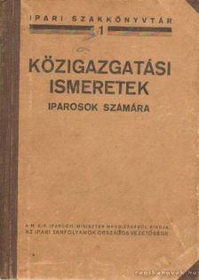MOÓR JENŐ - Közgazdasági ismeretek iparosok számára [antikvár]