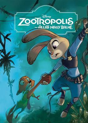 Disney - Zootropolis - Állati nagy balhé - Filmkönyv ***