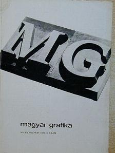 Albert Kapr - Magyar Grafika 1971/3. [antikvár]