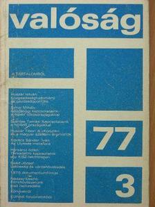 Bodri Ferenc - Valóság 1977. március [antikvár]